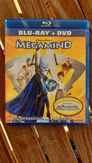 Megamind Bluray Dreamworks