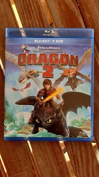 Como Entrenar a tu Dragon 2 Bluray