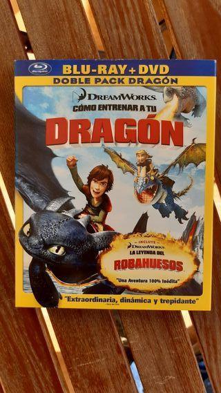 Como Entrenar a tu Dragon Bluray