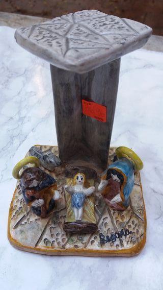 BELÉN en cerámica esmaltada
