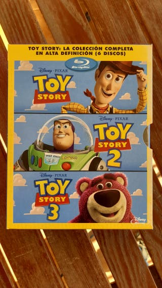 Toy Story Coleccion Disney Bluray