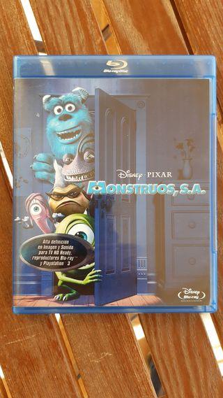 Monstruos S.A. Disney Bluray
