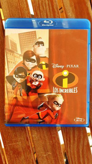 Los increibles Disney Bluray