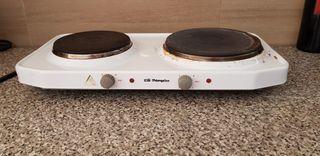 hornillo eléctrico 2 fuegos