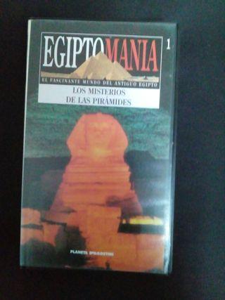 COLECCIÓN VHS EGIPTO 25 CINTAS