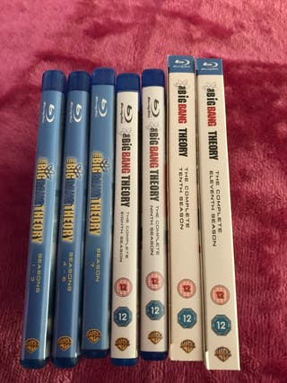 Big Bang Theory 1-11 Blu Ray Bundle