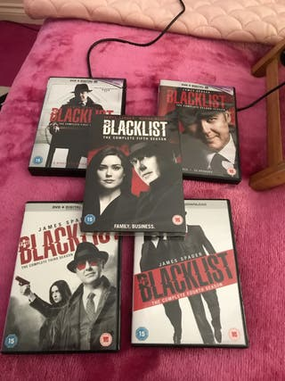 New Blacklist Seasons 1-5 dvd Box Sets
