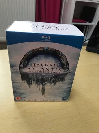 New Stargate Atlantis Blu Ray Box Set