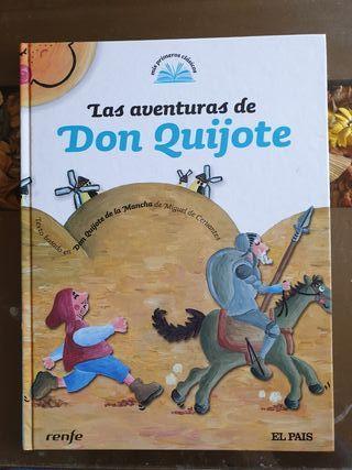 Don Quijote libro infantil
