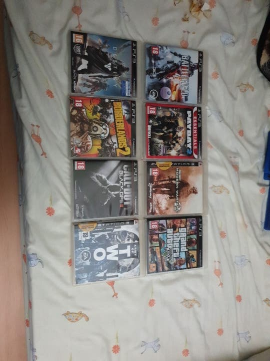 pack de 8 juegos de ps3