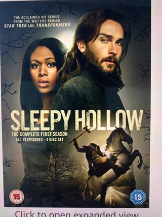 Sleepy Hollow Seasons 1&2 Blu Ray Box Sets