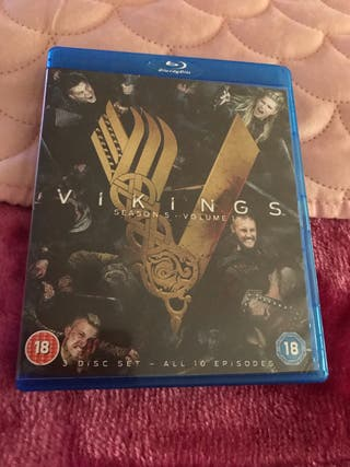 Vikings Season 5 Part 1 Blu Ray Box Set