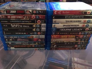22 Mint Blu Ray Movies