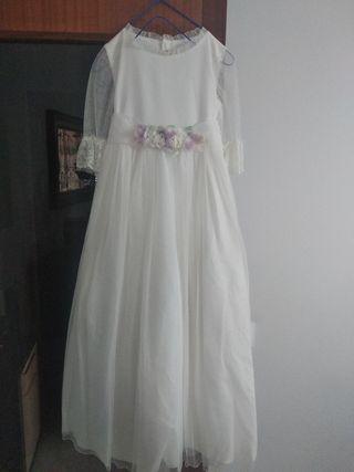 vestido comunión niña 1 uso