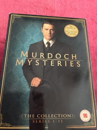 New Murdoch Mysteries 1-11 dvd Box Set
