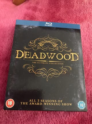New Deadwood 1-3 Blu Ray Box Set