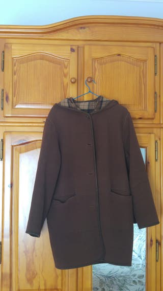 Trenca abrigo marrón