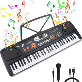 Piano 61 Teclas Portátil Nuevo