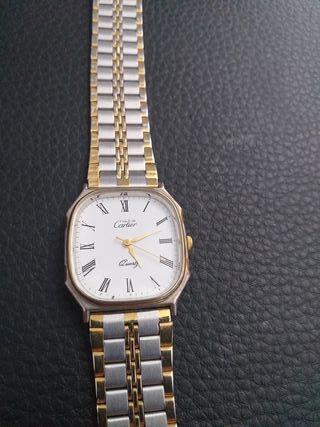 reloj de Cartier de plata