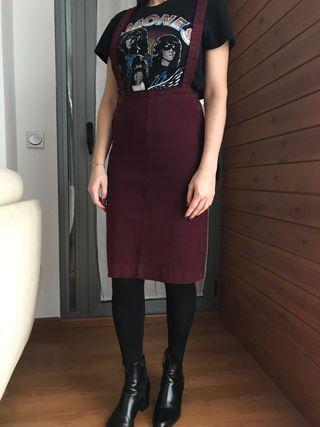 Falda tubo de Zara