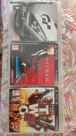Juegos PS3 Hitman, Army of two y Gran Turismo