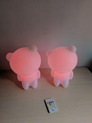 lámparas con altavoz