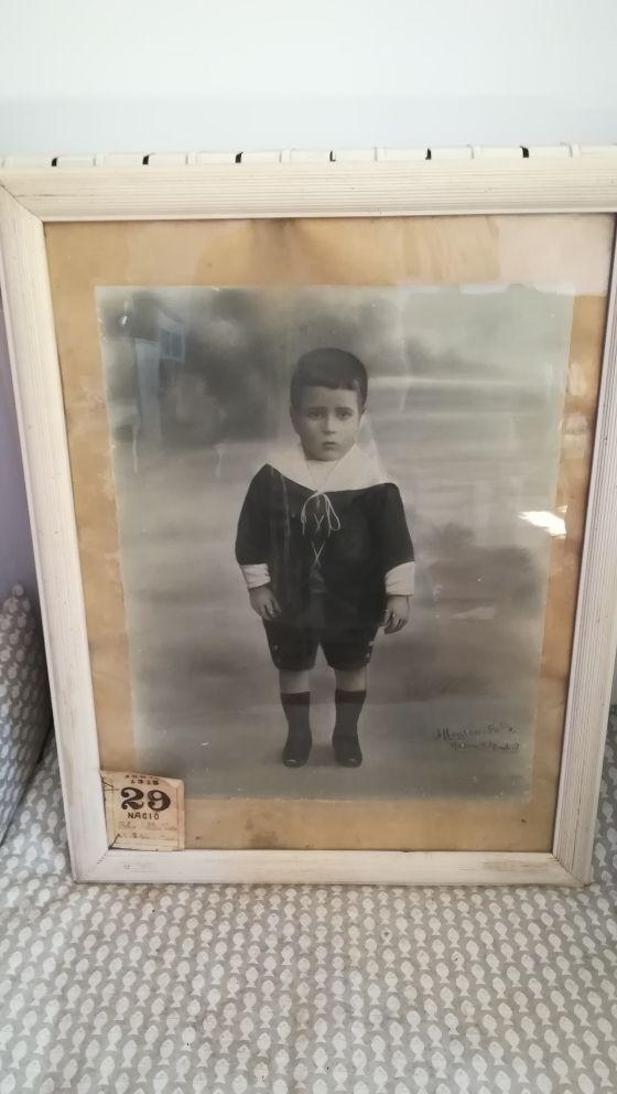 Cuadros con foto años 20. Antigüedad.