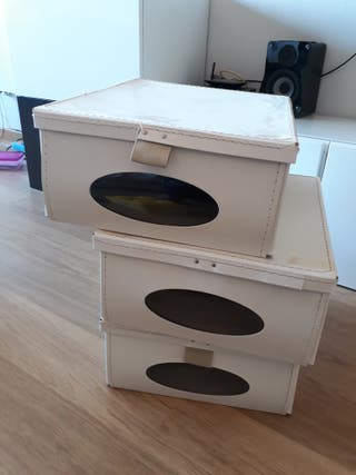 Cajas almacenaje Ikea