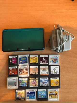 Nintendo 3ds Azul Metalizado