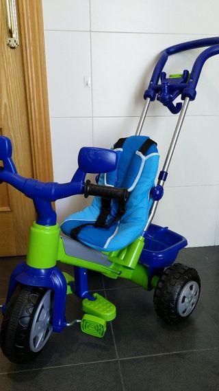 Triciclo evolutivo bebe infantil FEBER