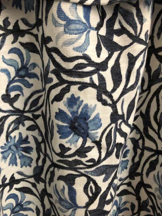 Vestido babydoll flores H&M