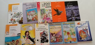 PACK libros lectura infantil (11 en total)