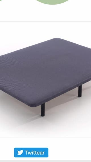 Base tapizada. 1,35X1,90 nueva