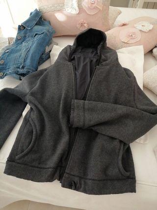chaqueta reversible con forro polar buen estado