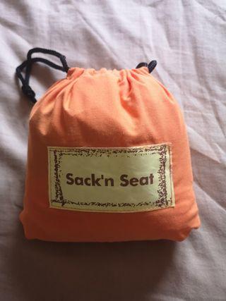 Trona de tela portátil Sack'n Seat