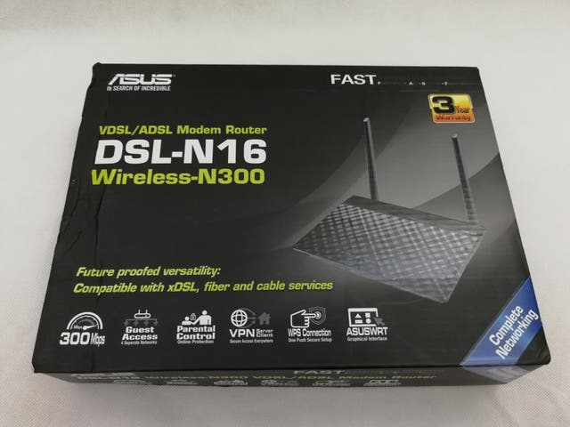 Asus DSL-N16 ADSL modem router Wireless - N300