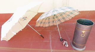 Posa paraguas portátil botas chubasquero poncho