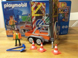 Playmobil 4049 Vehículo de Señalizacion de Obras