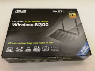 Asus DSL-N14U ADSL modem router Wireless-N300
