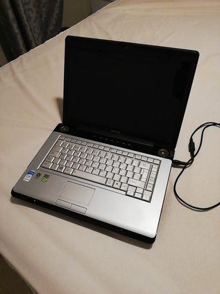 Ordenador portátil Toshiba Intel Core 2 Duo