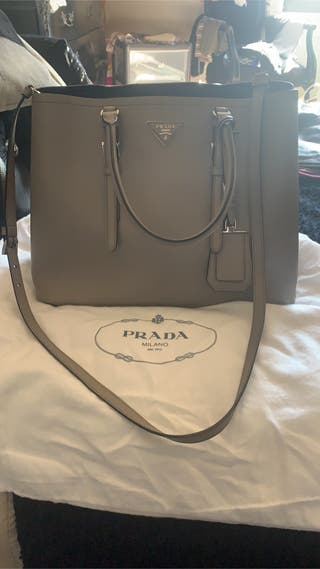 Grey Prada Bag