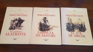 Libros Pérez Reverte
