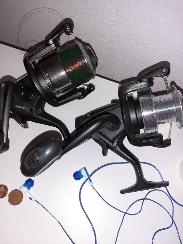 equipo de pesca carpfishing