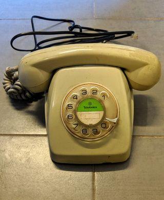 teléfono vintage retro antiguo fijo