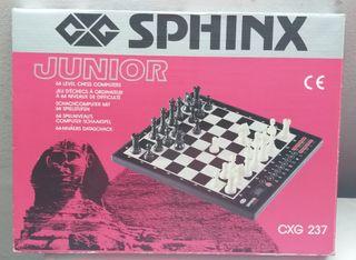 Juego de ajedrez electrónico