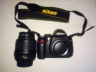 Cámara réflex Nikon D3000