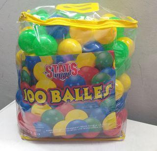 Juego de 100 bolas