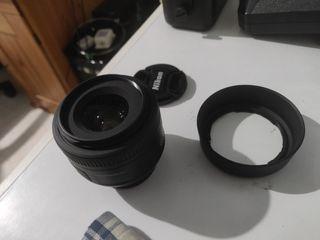 Objetivo 35mm f/1.8 para Nikon