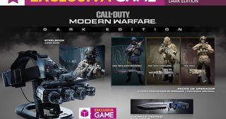 Call fo duty Modern Warfare Dark Edition