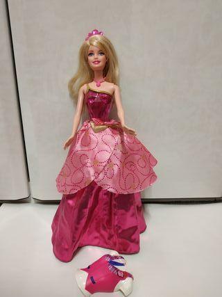 Barbie escuela de princesas muñeca